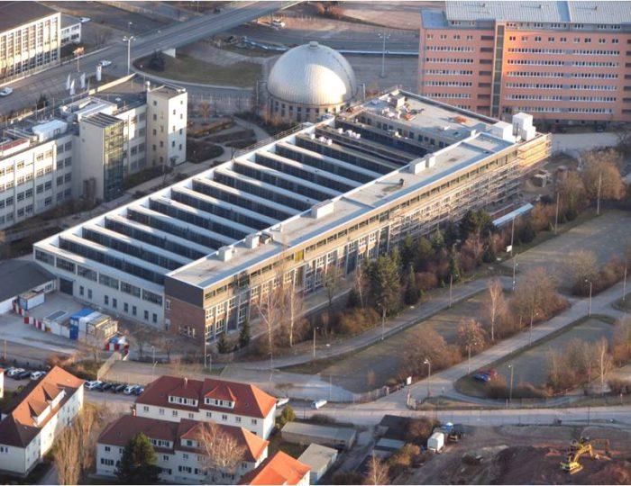 Campus Fachhochschule Jena, Haus 4, Shedhalle