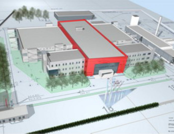 Fabrikneubau Blutplasmafraktionierung Kirov