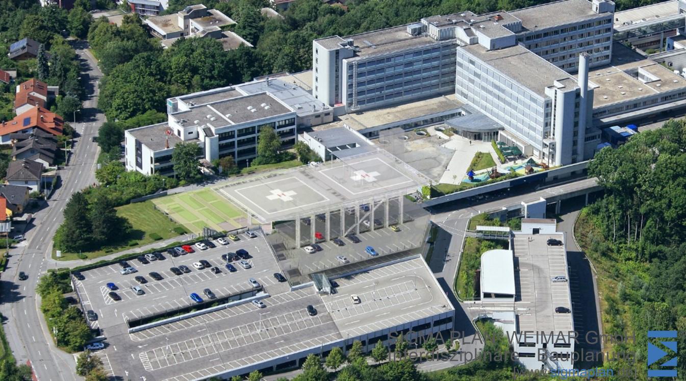 Hubschrauberlandeplattform Deggendorf