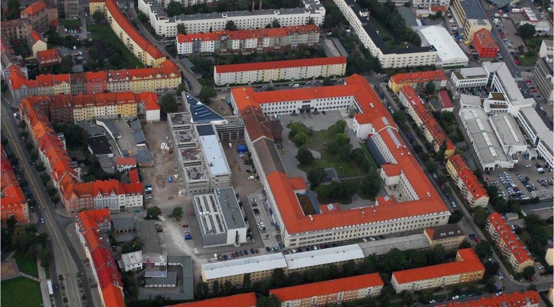Campus Fachhochschule Erfurt, Laborgebäude Versorgungstechnik